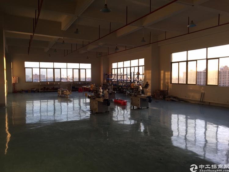 长安厦岗新出楼上带装修厂房400平方招租
