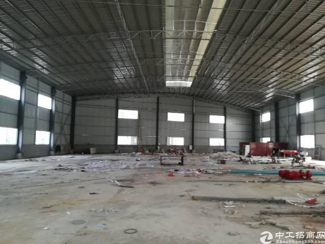 石湾独院钢构厂房5100,全新厂房,可做污染行业-图2