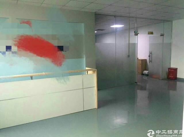 福永新和现有二楼1000平标准厂房招租