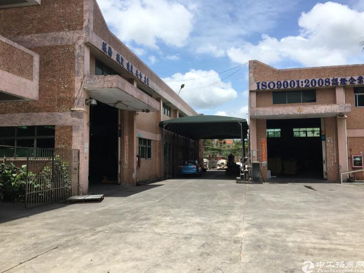 松岗大田洋原房东独门独院4500平米两栋钢结构厂房招租