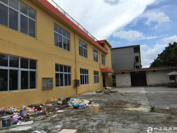 厂房位于松岗潭头107国道旁独门独院1/2层2300平米招租