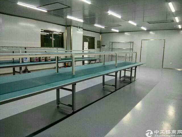 福永镇新和新兴工业区二楼无尘车间1350平厂房招租