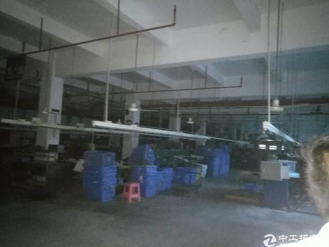 高埗新出标准厂房一楼1900平高7.5米带牛角