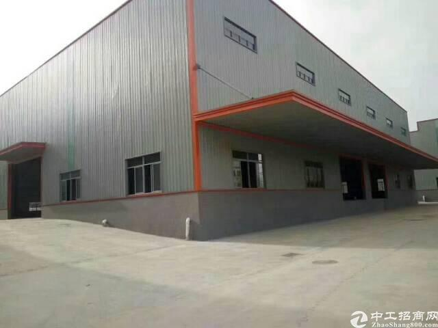 黄江镇靠近莞樟路旁边新出钢结构厂房1500平方出租