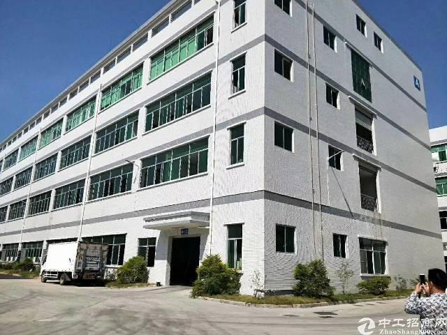 出租 光明新区观光路边工业园2楼整层2200平 3顿货梯