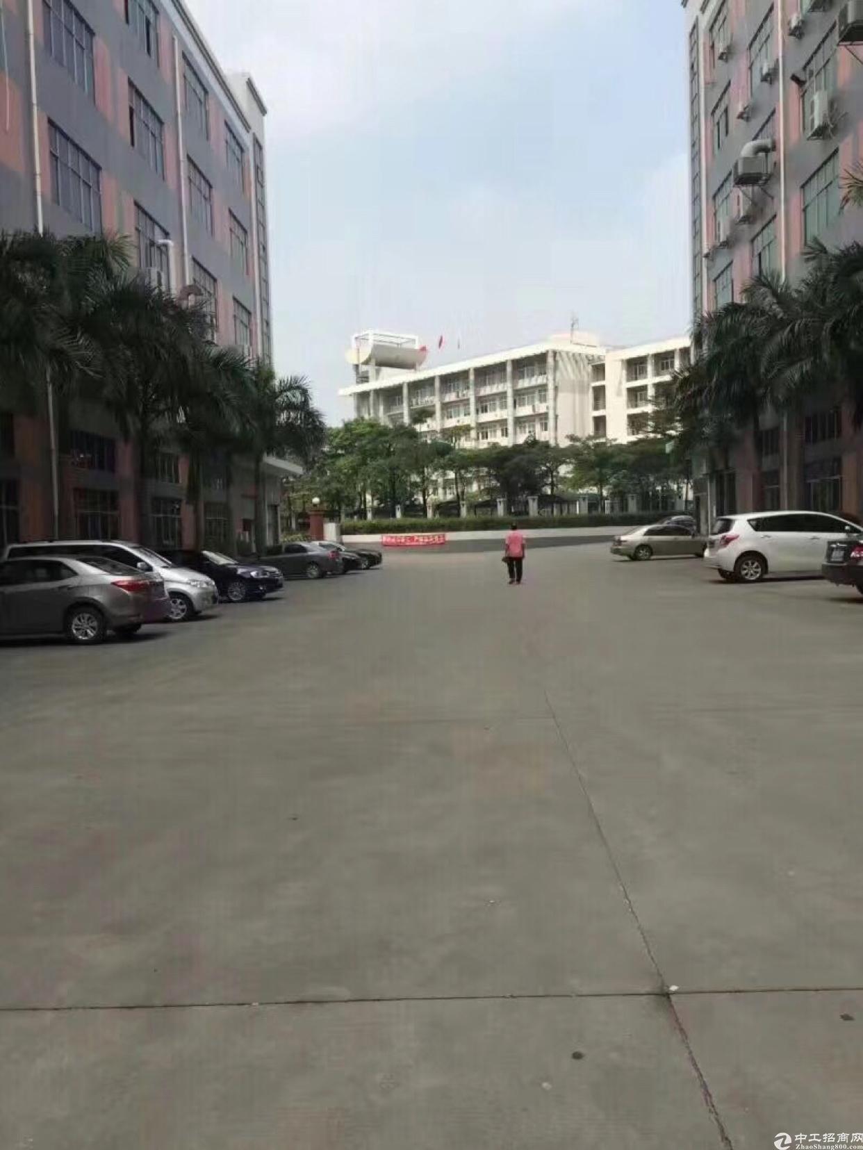 龙华汽车站附近400平厂房,园区形象好,空地大,水电齐全-图7