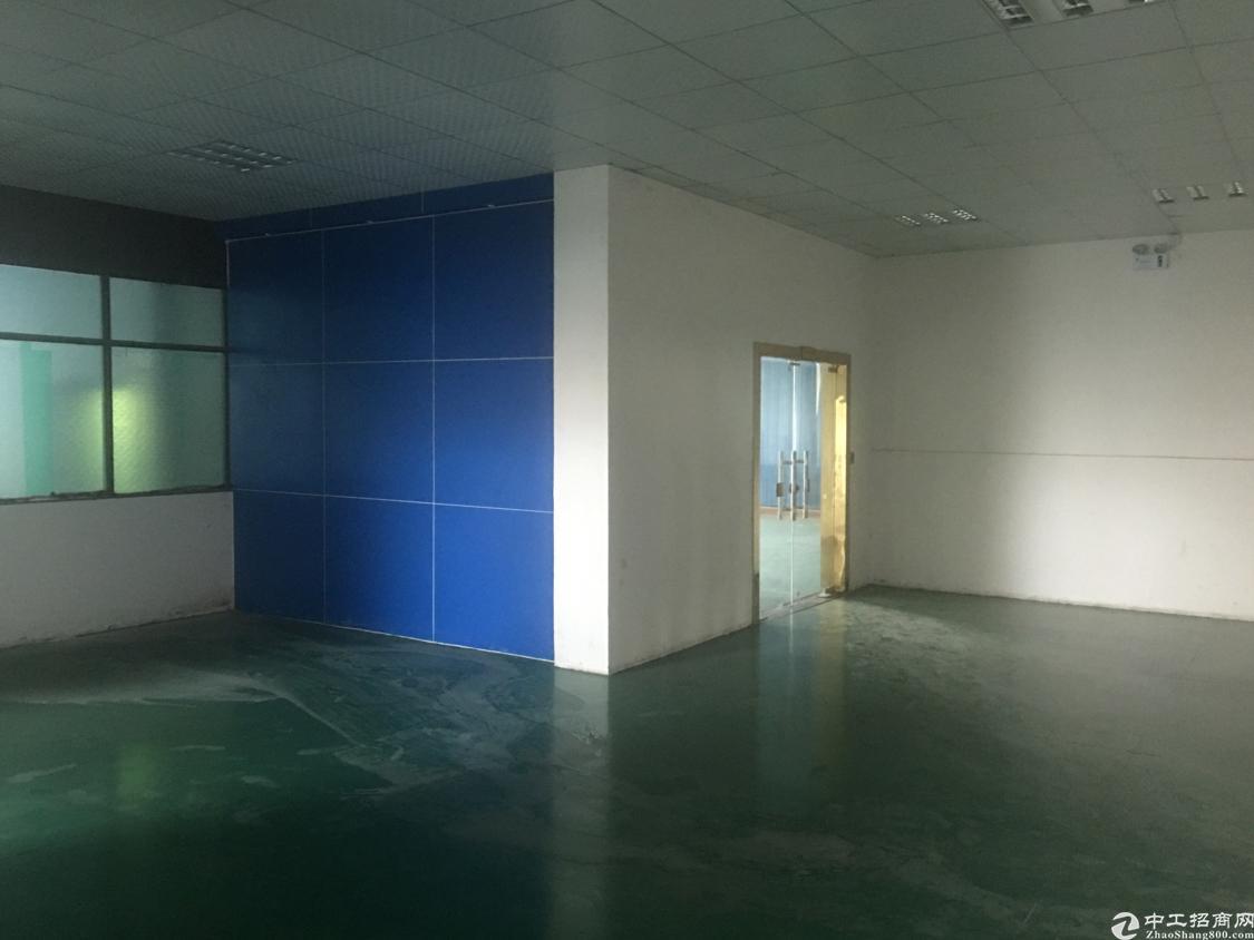 黄江镇靠深圳二楼600㎡带装修厂房出租