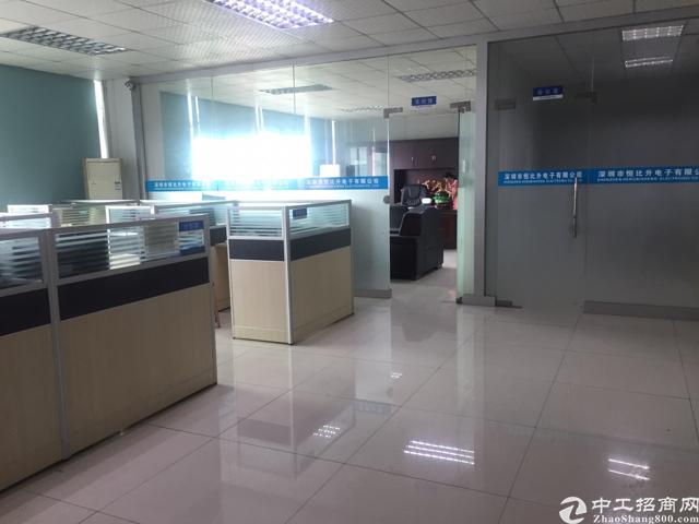 福永原房东无公摊红本厂房800平精装修-图3