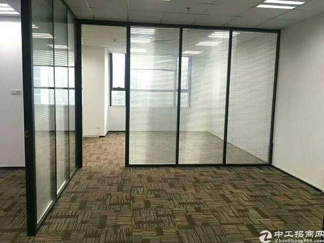 松岗车站附近新出写字楼3000平方米带豪华装修大小分租