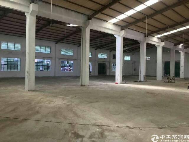 樟木头原房东独院钢构厂房1650平方招租