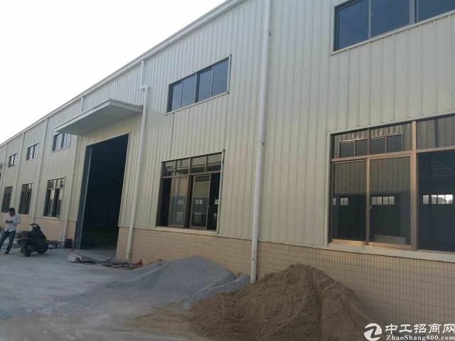 虎门沙角全新钢构厂房,独门独院,环境好,空地大