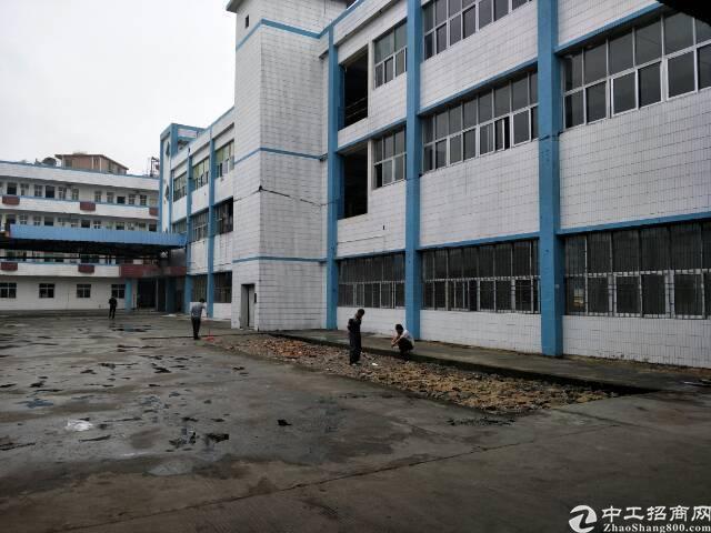 大岭山独院原房东厂房7500平米出租