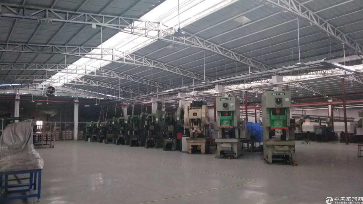 沈海高速出口新出2500平米原房东钢构厂房出租