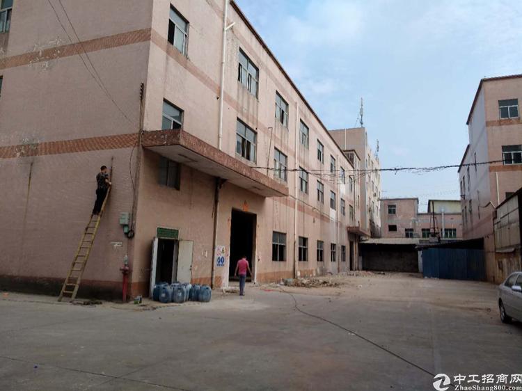 惠州6200平米国有双证带食品营业执照厂房出售