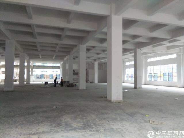 黄江镇田心村全新标准厂房一楼2800平米出租