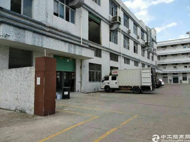 龙岗坪地6米高标准一楼厂房出租