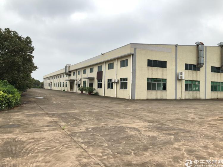 清溪近塘厦单一层独院厂房6500平方低价急租