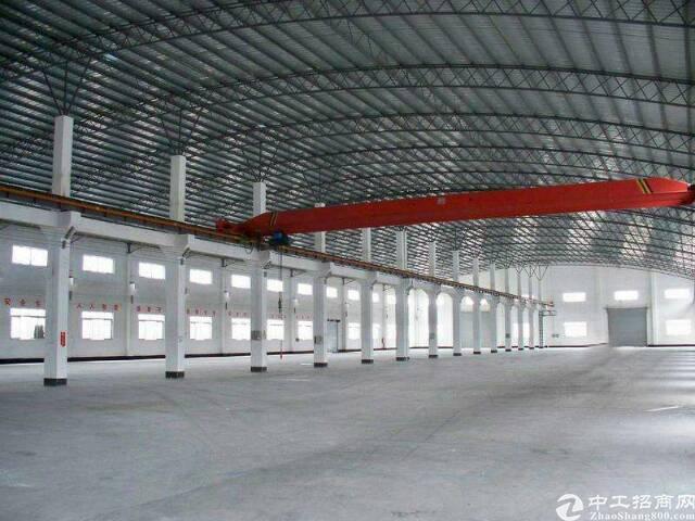 松岗大田洋新出钢结构厂房15000平方高度12米带行车低价招