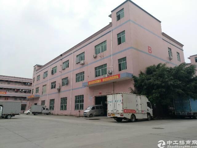 松岗松福大道旁边新出楼上1200带办公室装修厂房