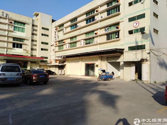 沙井大王山新出原房东一楼2300平六米高厂房