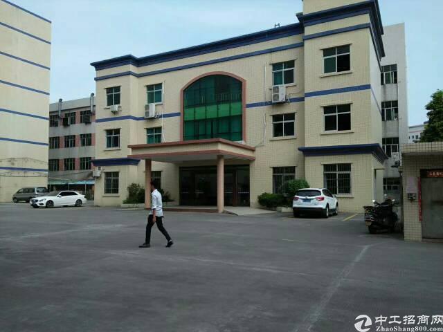 福永107国道大洋田红本独院厂房招租15000平米可分租