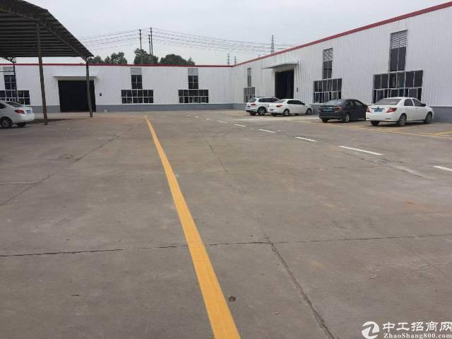 松岗东方7米高独院钢构厂房5000平低价求租