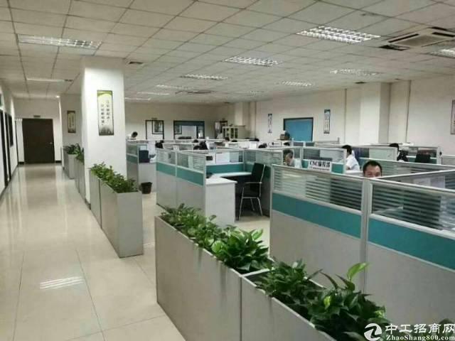 福永怀德107国道边新出楼上1700平米带豪华装修厂房出租7