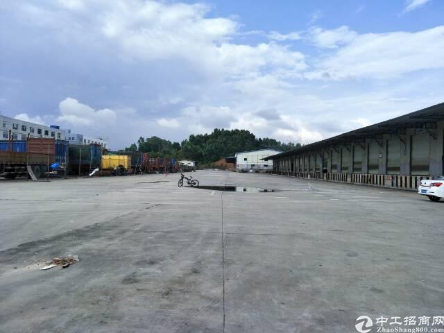 龙华高速处大型物流园12月底空出12000平钢构
