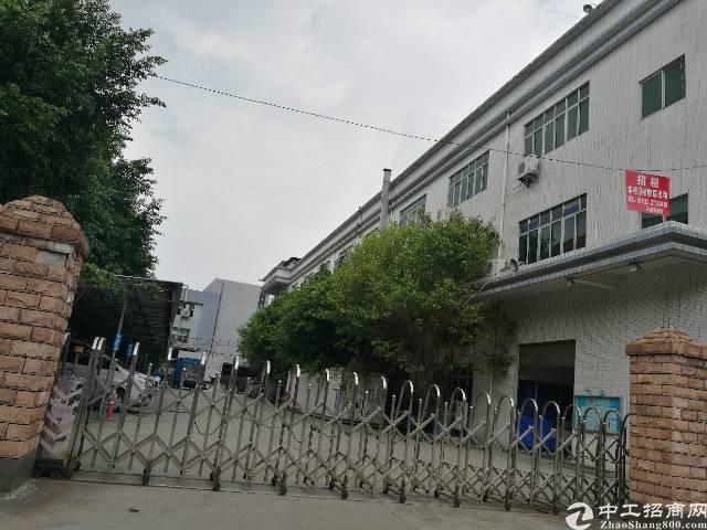 沙井西部新出楼上1700平带装修厂房