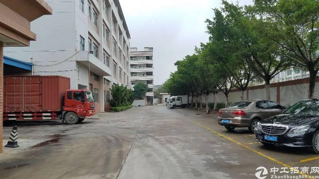 松岗燕川新出原房东实际面积独院四层5800平米厂房招租