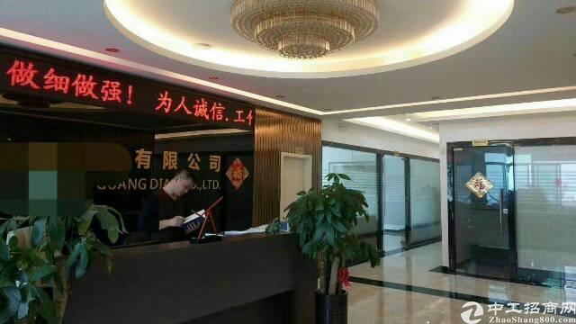福永地铁口楼上2000带装修原房东红本厂房出租