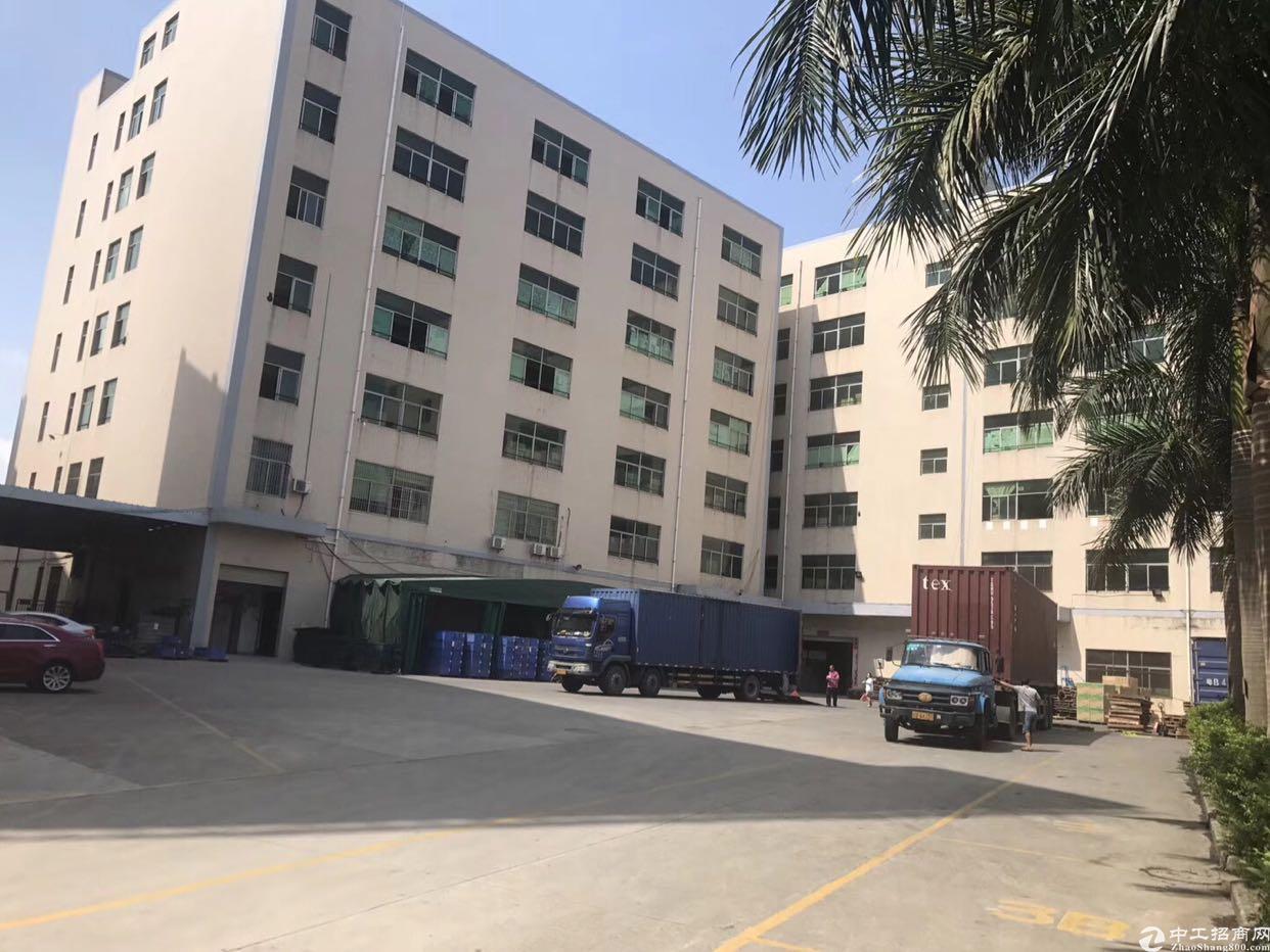龙华新百丽独栋单层2500平共6层可半层出租