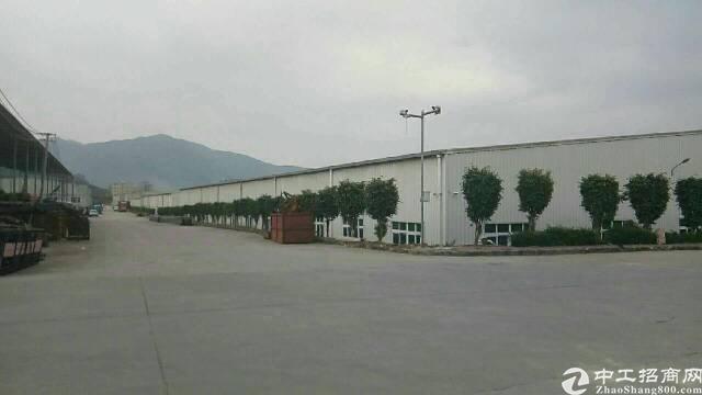 惠州新圩高速口 原房东12米高钢构8300㎡出租
