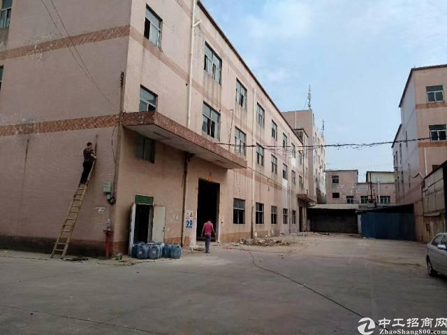 松岗燕川新出带红本实际面积独院厂房出租只接受实业客户