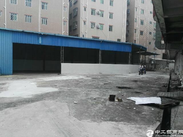 大岭山镇大塘村550平方铁皮房空地超大