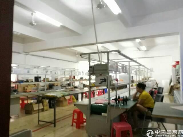 龙华地铁口新出厂房700平米有装修免转让费