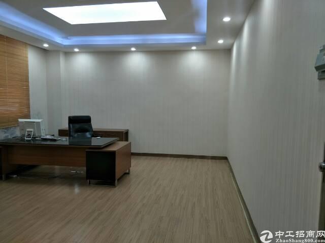 福永桥头新出楼上600平米精装修厂房出租