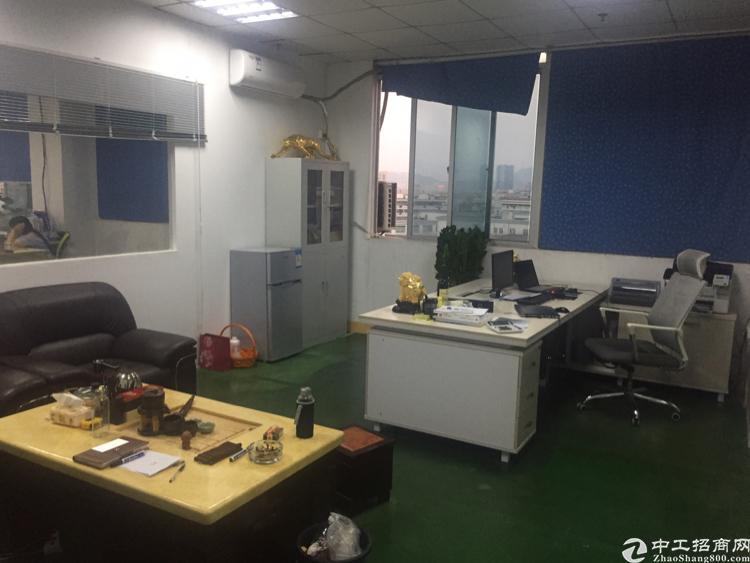 福永镇桥头万言工业区楼上850平方带装修厂房招租