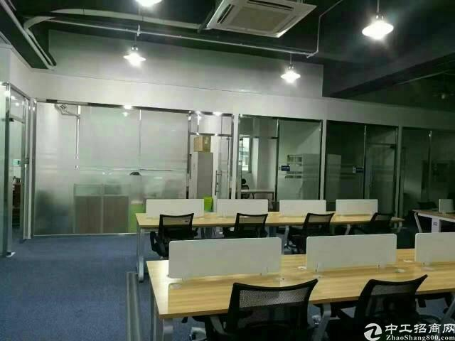 龙华地铁口带精装修厂房,写字楼办公室招租。