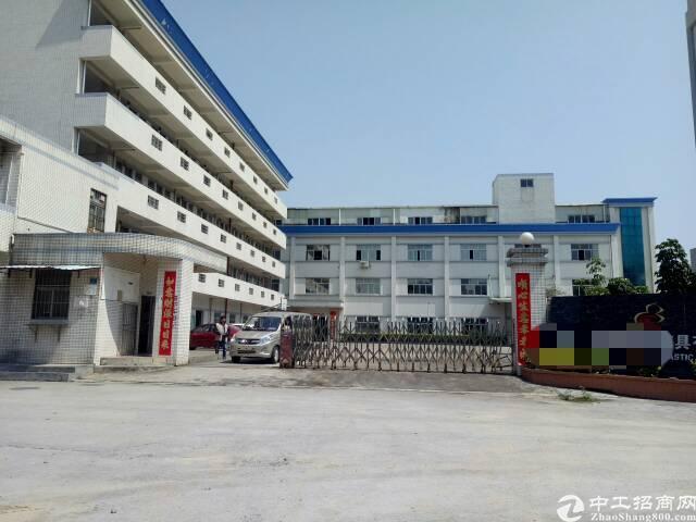 黄江镇新出1600平方楼上带装修可做喷油厂房
