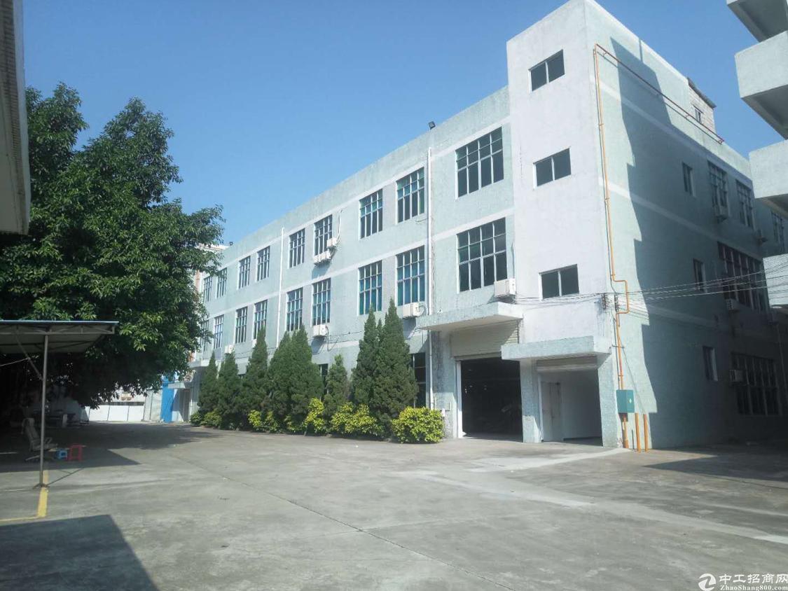 靓盘推荐:公明街道原房东独院三层7500平米,一楼六米高。