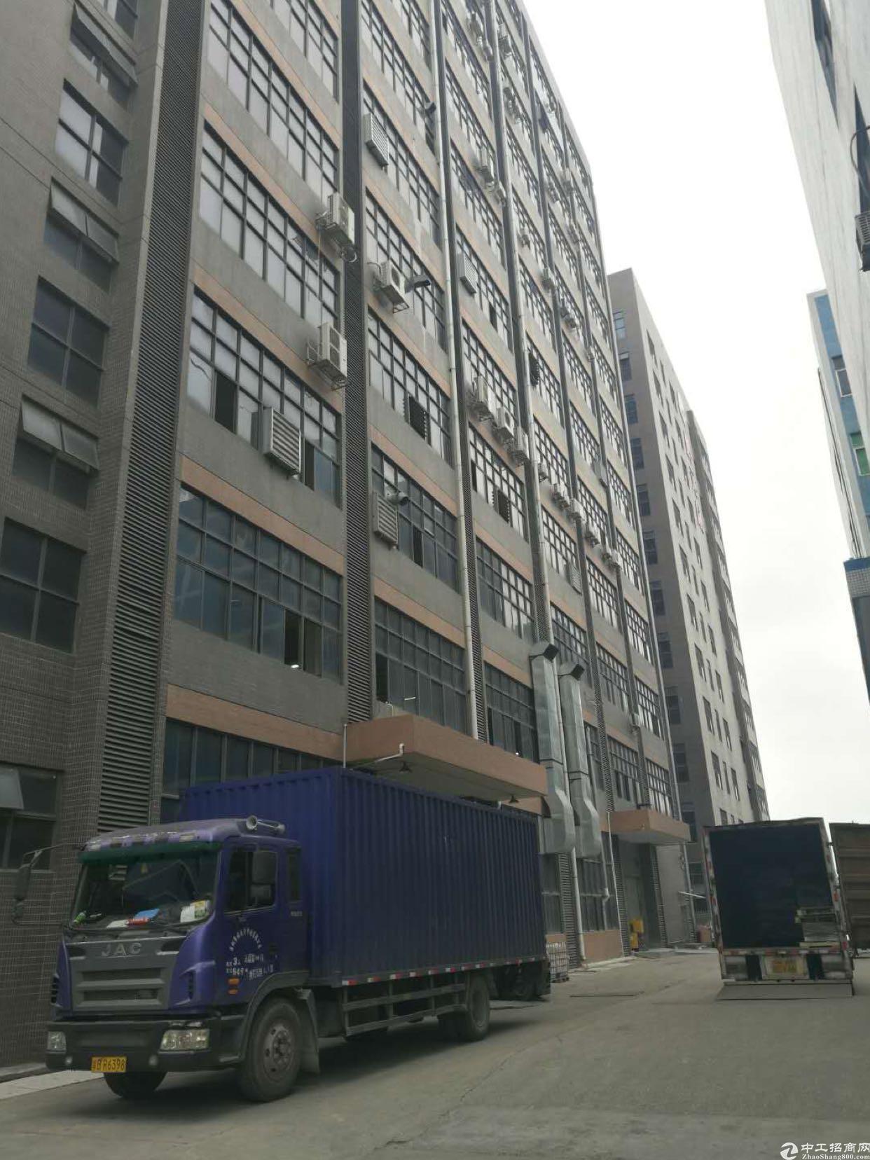 大浪大型工业园区新出原房东带红本精装修2000平厂房。