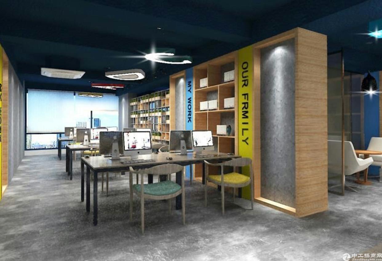 龙华清湖地铁站附近写字楼豪华装修高档写字楼800平