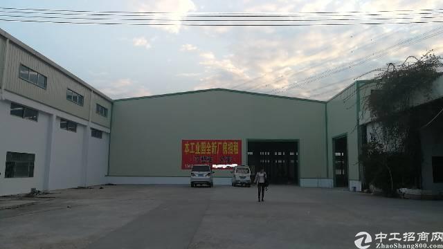 大岭山稀缺独院钢构20000余平米厂房,可分可整。