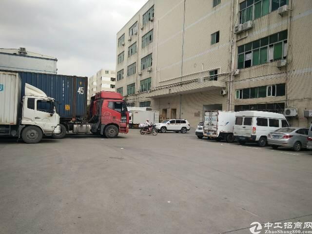 公明上村新出一楼2500平米带行车厂房出租靠近南光高速下村出