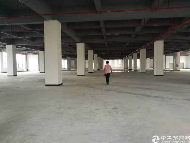 三栋数码城全新厂房二楼2550平形象好空地大