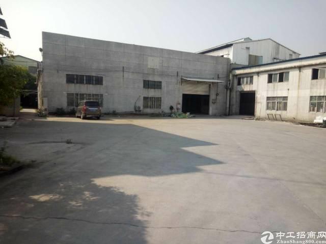 洪梅单一层厂房招租1500平方水电齐全,空地2000平方
