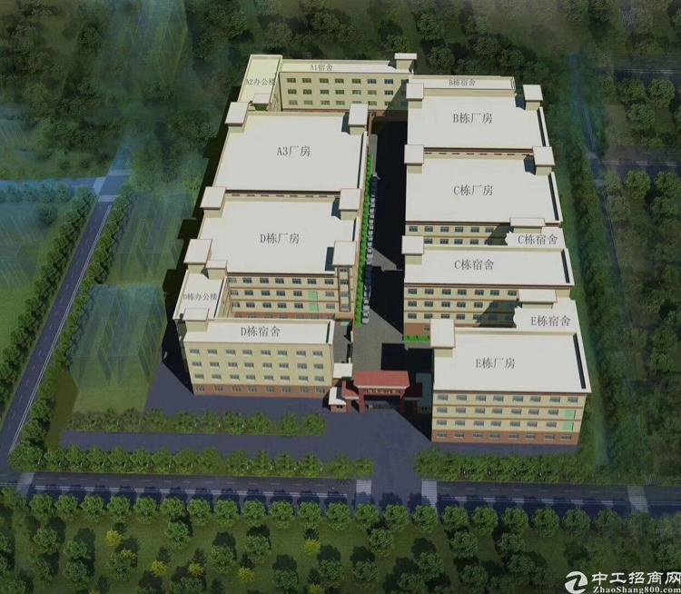 江门国有证红本厂房50000平方米低价出售