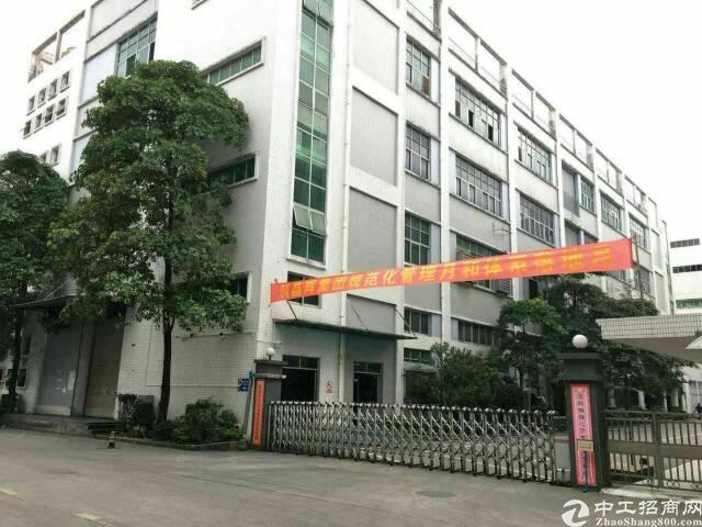 龙华大浪华繁路鼎丰科技园620平方米精装厂房招租
