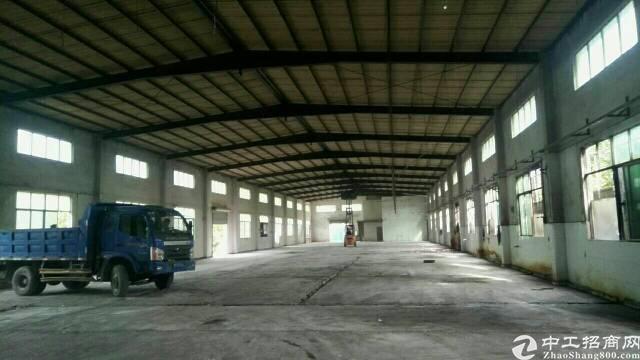 常平朗洲新出经典超靓单一层厂房2100平方,锅炉房仓库200